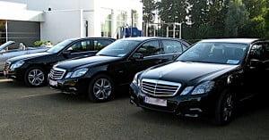 Mercedes E klasse zwart